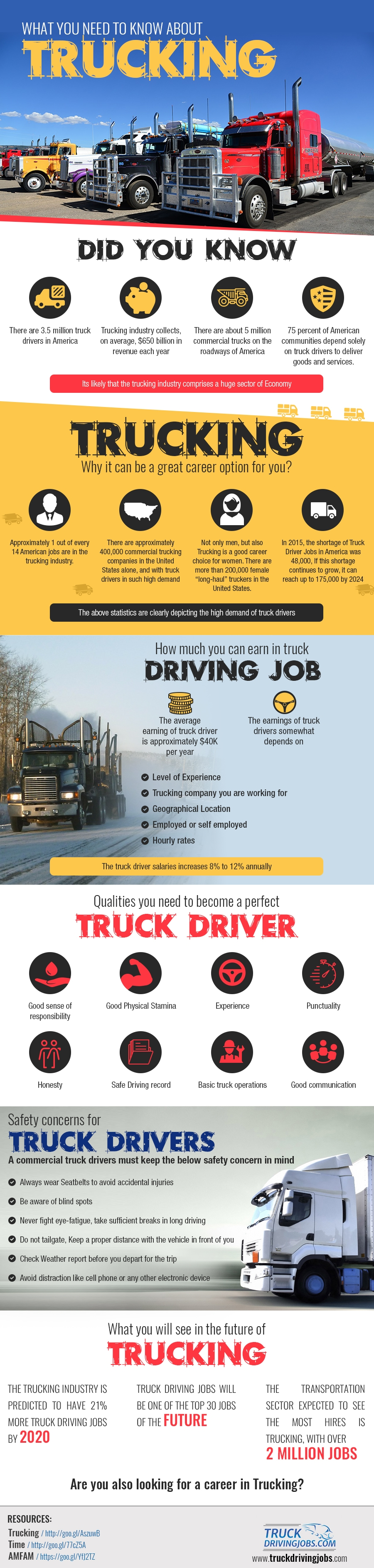 What You Need To Know About Trucking